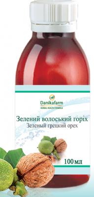 Зеленый грецкий орех, 100мл Даникафарм (Danikafarm)