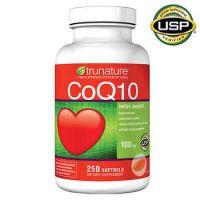 Коэнзим Q10 Trunature®, 250 капсул