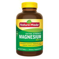 Магний Nature Made 400 mg, 180 капсул