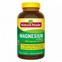 Магний цитрат Nature Made 250 mg, 180 капсул