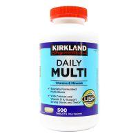 Мультивитамины Daily Multi для ежедневного приема Kirkland, 500 таблеток