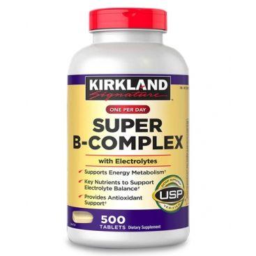 Витамины группы В Kirkland 500 таблеток