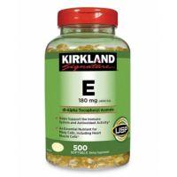 Витамин Е 400 IU Kirkland 500 капсул