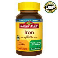 Железо Nature Made® Iron 65 mg., 365 таблеток